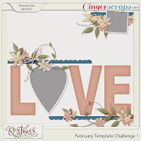 Template : February Template Challenge 1 by Kristmess Designs
