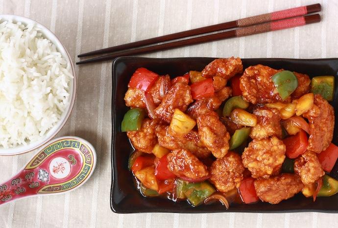 Malaysian Sweet & Sour Chicken recipe by SeasonWithSpice.com