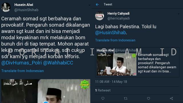 Video Ustadz Abdul Somad Bahas Palestina di bawa-bawa ke Indonesia, Alwi Kena Damprat Netizen