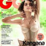 Kangana Ranaut at the Cover Page of GQ Magazine