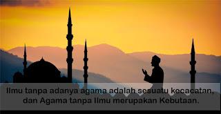 Kata-kata Mutiara Islam tentang ilmu