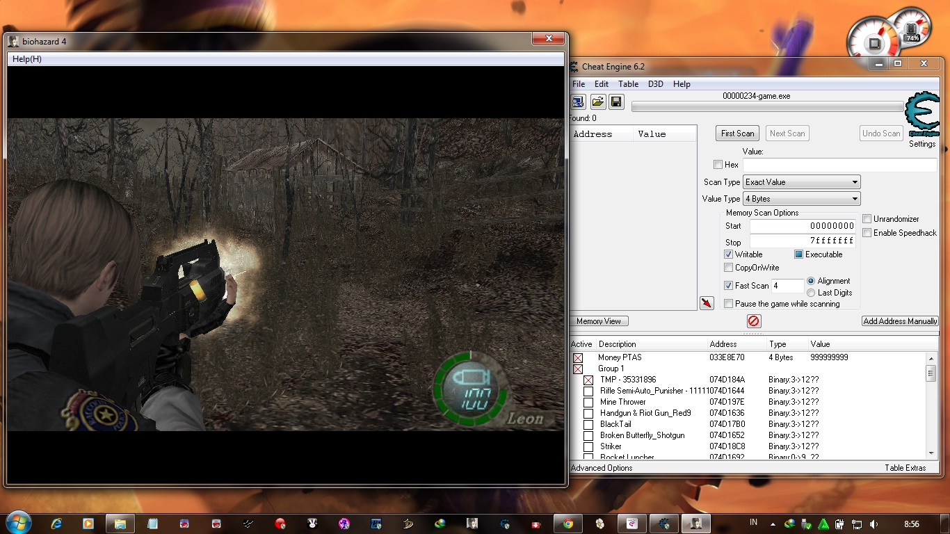 Trainer +6 hack/cheat download tutorial resident evil 4.