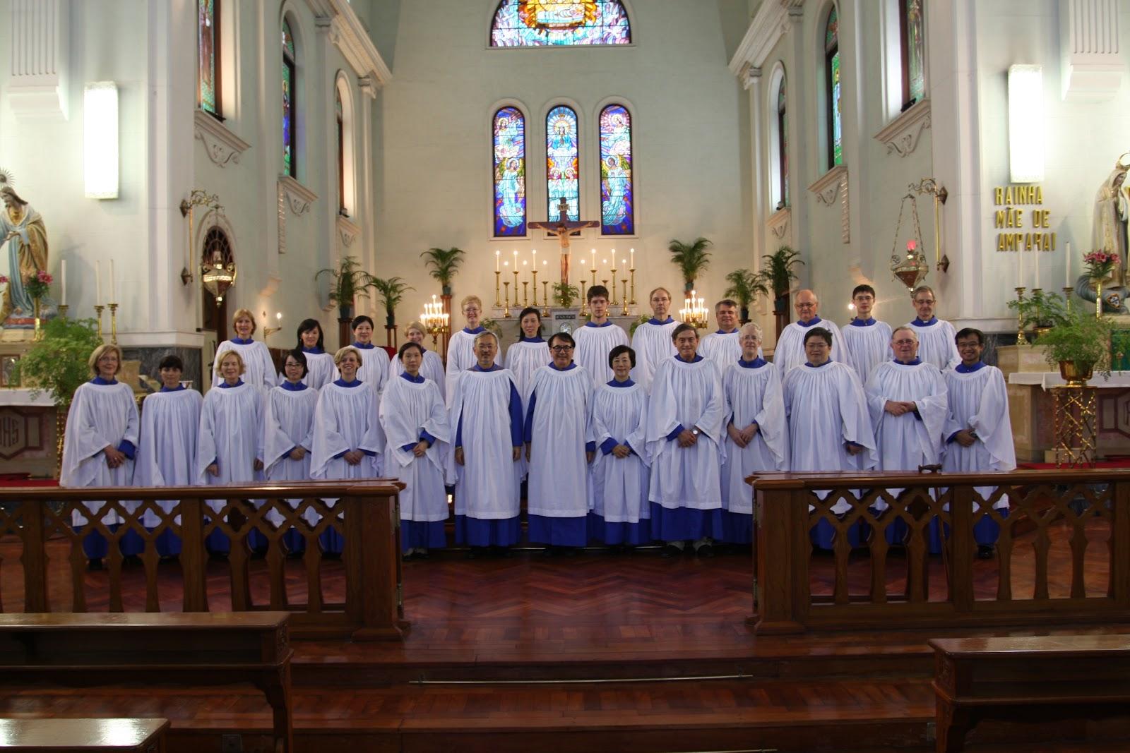 St. John's Cathedral Choir, Hong Kong