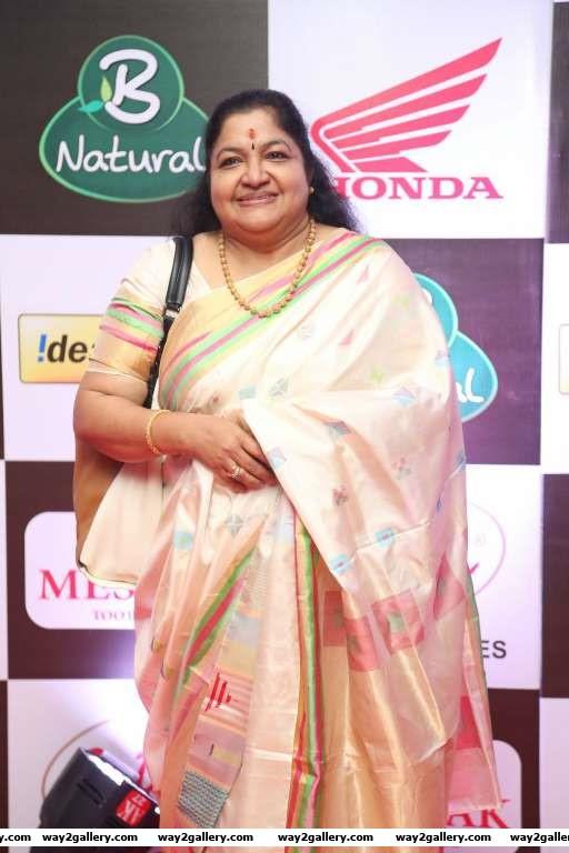 Chitra was among the singers at Mirchi Music Awards South