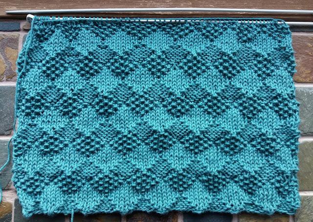 strikket i bomuld