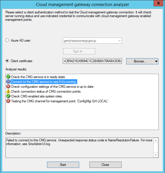 Gerry Hampson Device Management: April 2019