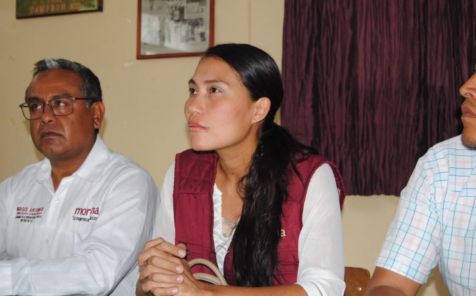 Grupo armado roba camioneta a candidata de Morena