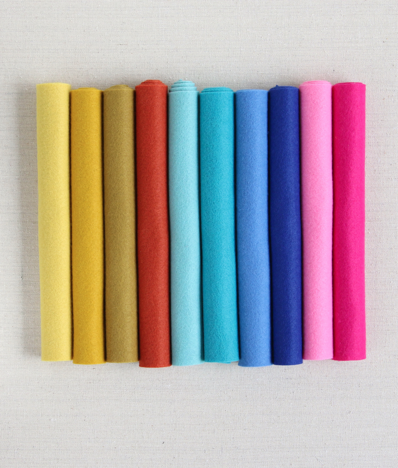 Mmmcrafts: Curated Felt Color Collection For Gold Ring