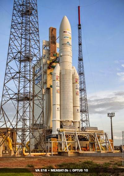 Ariane 5 a placé sur orbite deux satellites de télécommunications.