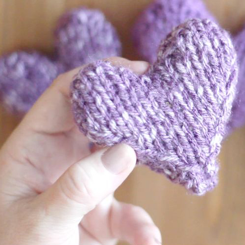 Puffy Heart Softies - Free Pattern