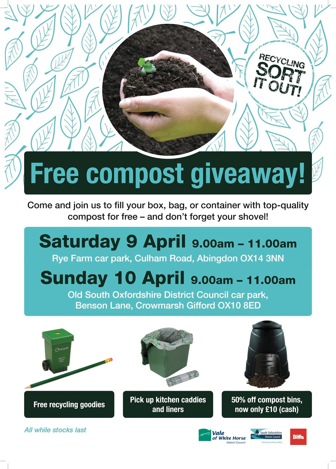 Oxfordshire Master Composters: Free compost giveaway!
