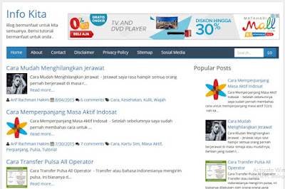 YOYOT Blogger Template Super Loading Fast and SEO Responsive