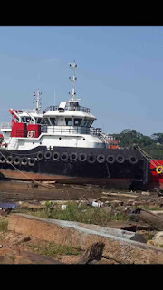 For sale Tugboat,Engine Mitsubishi type S6R2-MTK3L,1032Hpx2,1406Rpm,Gear box Nico ratio 5:1,Genset Mitsubishi 36Kva,Class BKI,Build 2015,Posisi Samarinda.