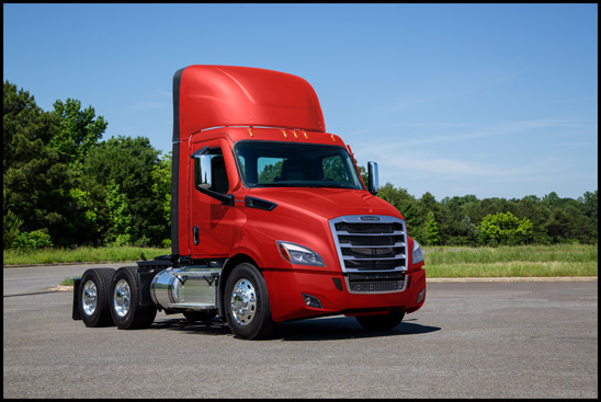 Freightliner Cascadia Day-Cab