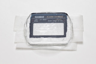 CASIO A158WA-1JF 文字盤