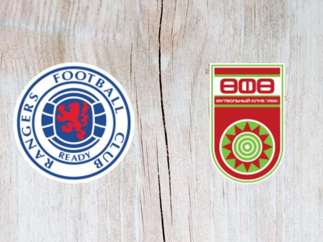 Rangers vs FC Ufa - Highlights - 23 August 2018