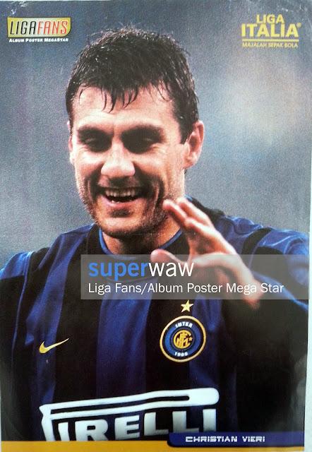 Poster Christian Vieri (Inter Milan)