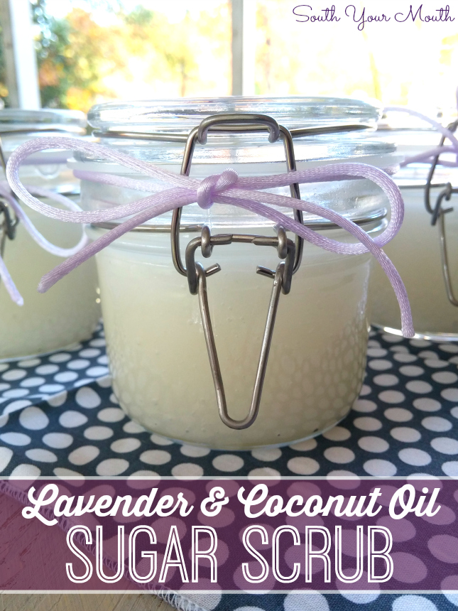 South your mouth diy sugar scrub diy sugar scrub make this simple hand scrub for yourself or to give away for solutioingenieria Choice Image