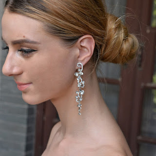 charming earrings for wedding