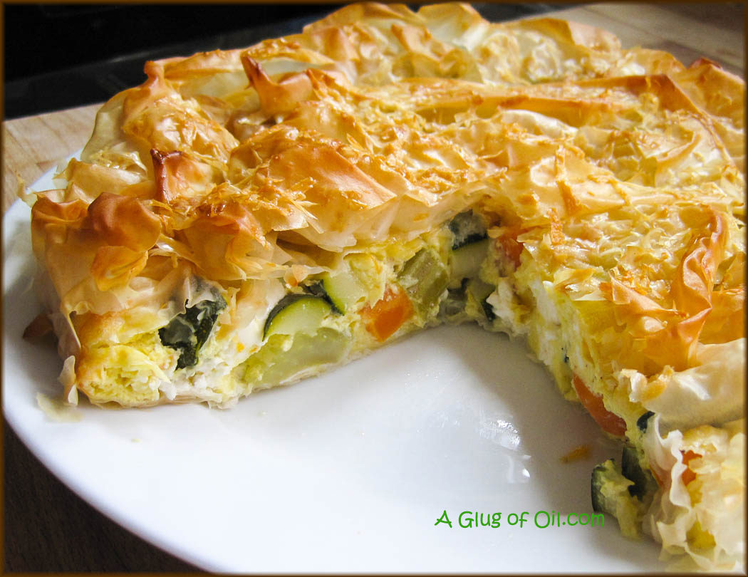 Feta and Vegetable Tart