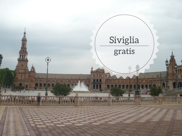 Cosa fare gratis a Siviglia veduta di Plaza de España