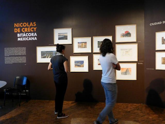 Museo de Arte Moderno, ilustración, acuarela,