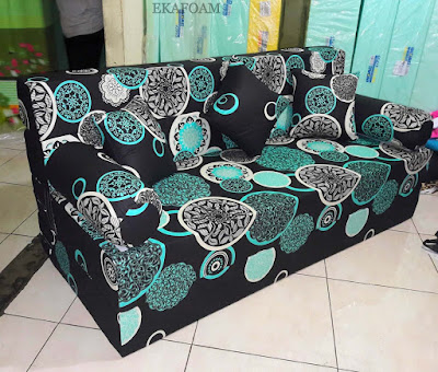 Sofa bed inoac motif dark moon