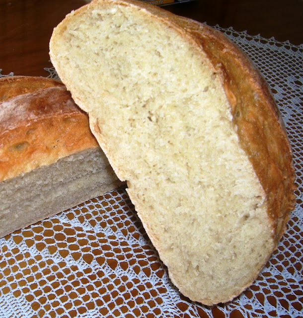 Pan Blanco Horneado a la Piedra