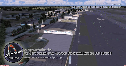 KYNG Youngstown Warren Regional Airport FSX-P3D3