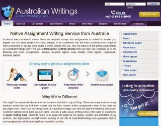 AustralianWritings.com College Essay Writing Service picture