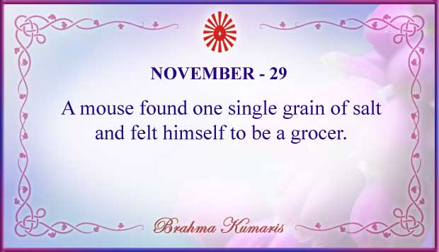 Thought For The Day November 29