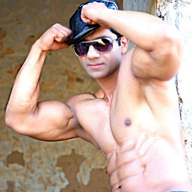 Pakistani Body Builder