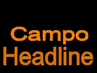 Erro Campo Headline