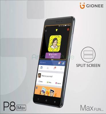 The Gionee P8 Max Smartphone Specifications And Price
