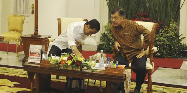 Jelang pendaftaran capres cawapres, JK terus komunikasi dengan Jokowi