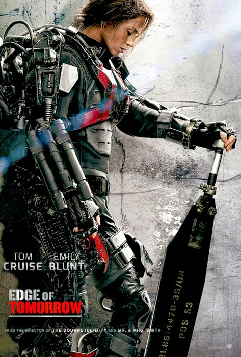 Poster Edge Of Tomorrow - Emily Blunt
