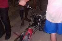 Acidente entre motos deixa condutores gravemente feridos em Cuité