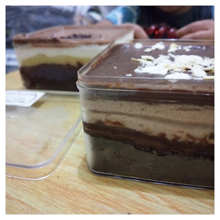 choco crunchy - dessertbox - cake in jar - buttercup by ayoe suardani