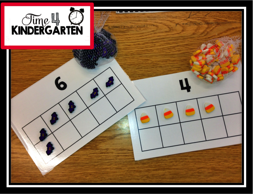 ten frames, subitizing in kindergarten