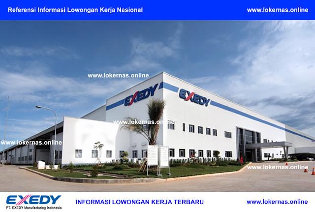 Kesempatan Kerja di PT Exedy Manufacturing Indonesia (Lulusan SMA/SMK/D3)