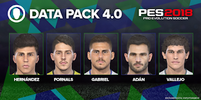 PES 2018 PS3 Official Update 1.06 + Datapack 4.0