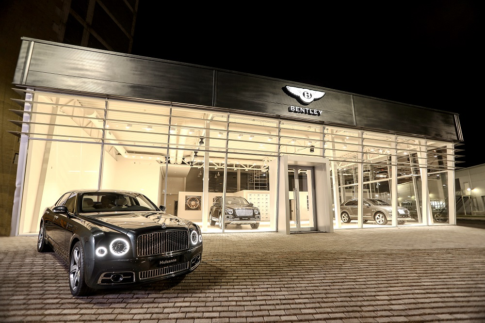 Bentley openins first showroom in Georgia