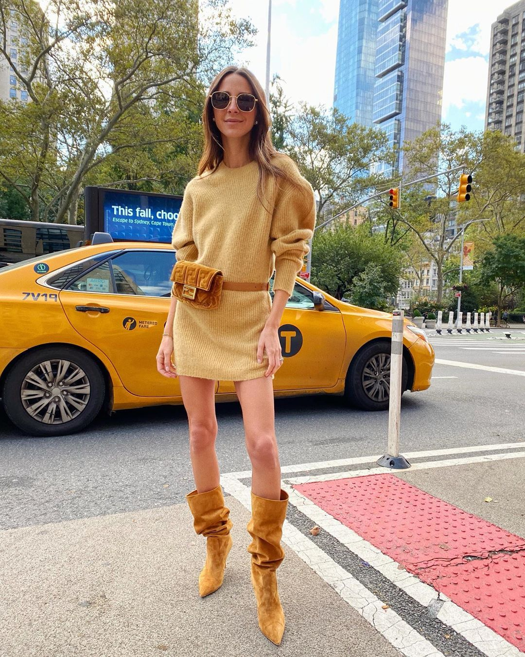 Sweater Dresses Are Key For an Easy, Chic Fall Outfit