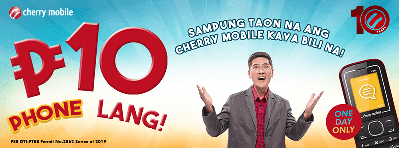 Sale Alert: Cherry Mobile to sell C26i feature phone for PHP 10 on March 10!