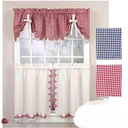 Elegant Kitchen Curtains 28