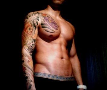 8 gambar tatto japan keren di tubuh pria tattoomagz