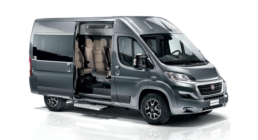nuovo fiat professional ducato shuttle gamma minibus rinnovata. Black Bedroom Furniture Sets. Home Design Ideas