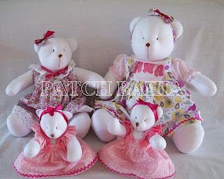 Mais Ursinhas para decoração de quarto de bebê