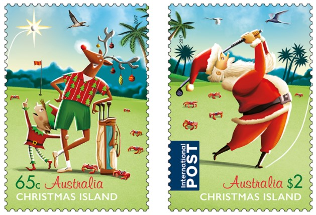 the stamps