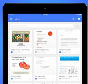 Google文書邁大步!手機版也能全面編寫Microsoft Office檔案